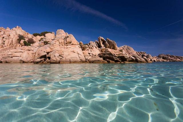 Spiaggia di Cala Coticcio / Reportážní focení u Michala Pavláska