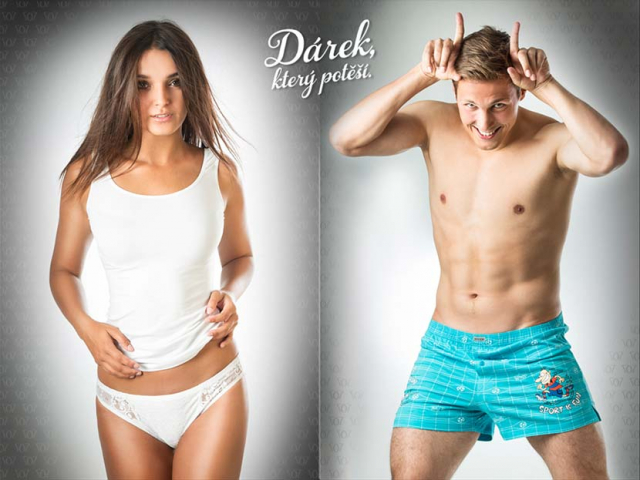 Spodní prádlo Andrie / Reportážní focení u Michala Pavláska