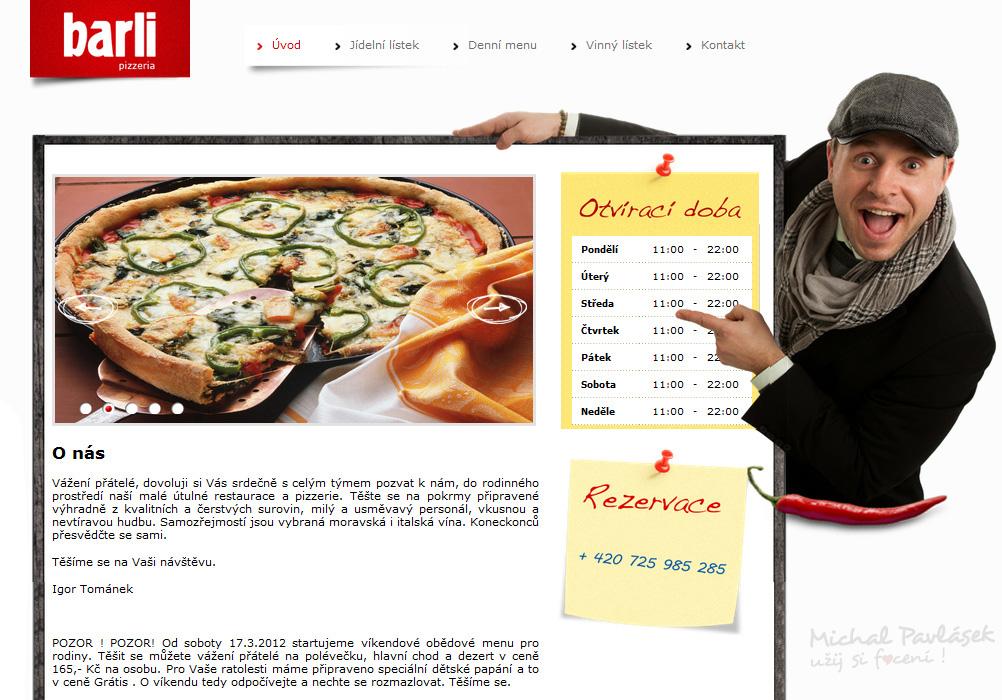 Barli-web / Reportážní focení u Michala Pavláska