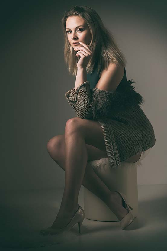 Kristýna / Focení modelek u Michala Pavláska