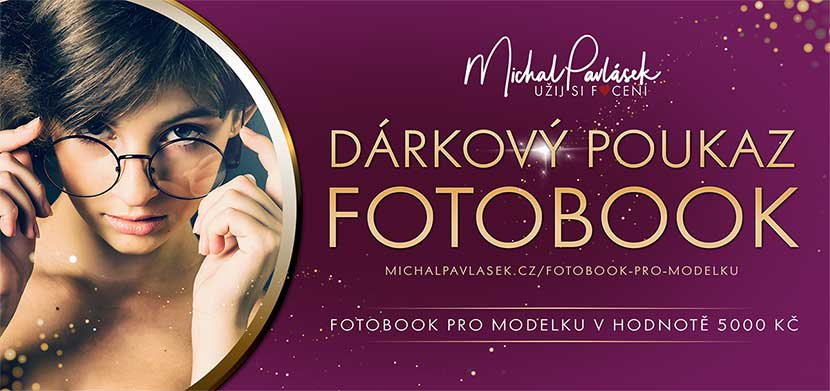 Dárkový poukaz Fotobook a kurz pro modelku