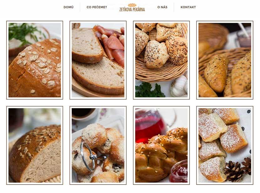 Foto výrobků na web Zetíkovy pekárny / Reportážní focení u Michala Pavláska