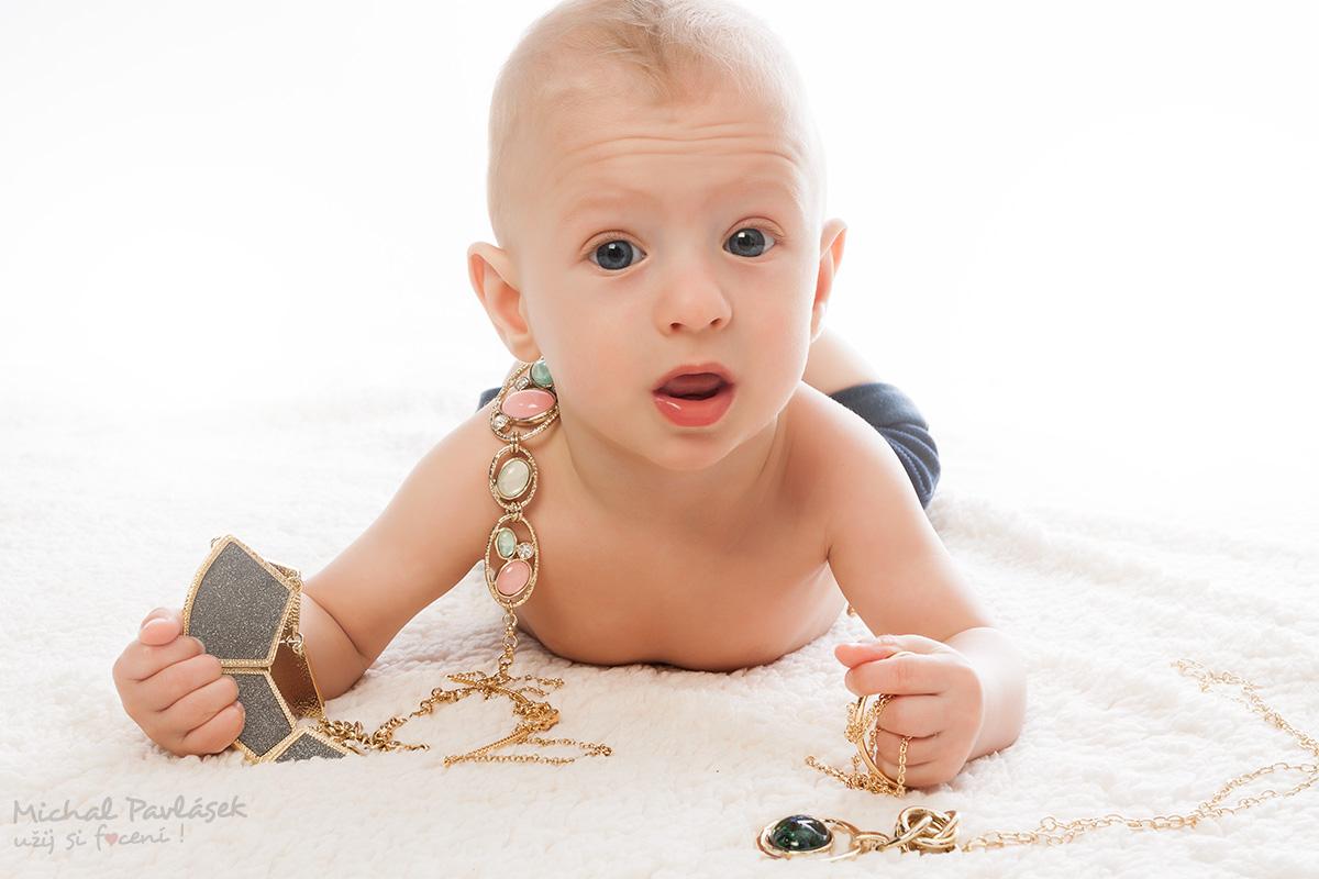 Promo foto šperků Cristian Lay pro poradkyni Zlatu / Reportážní focení u Michala Pavláska