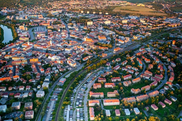 Letecká fotografie / Michal Pavlásek Uherské Hradiště