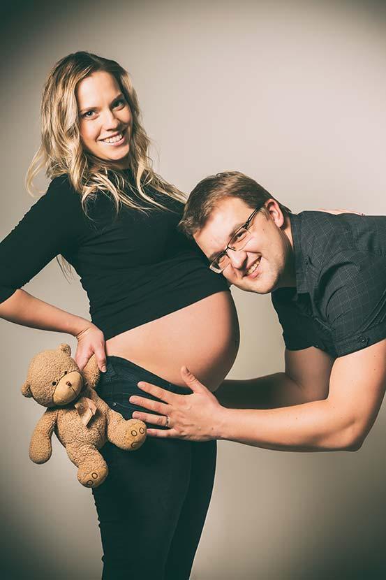 Těhotenské focení u Michala Pavláska Uherské Hradiště