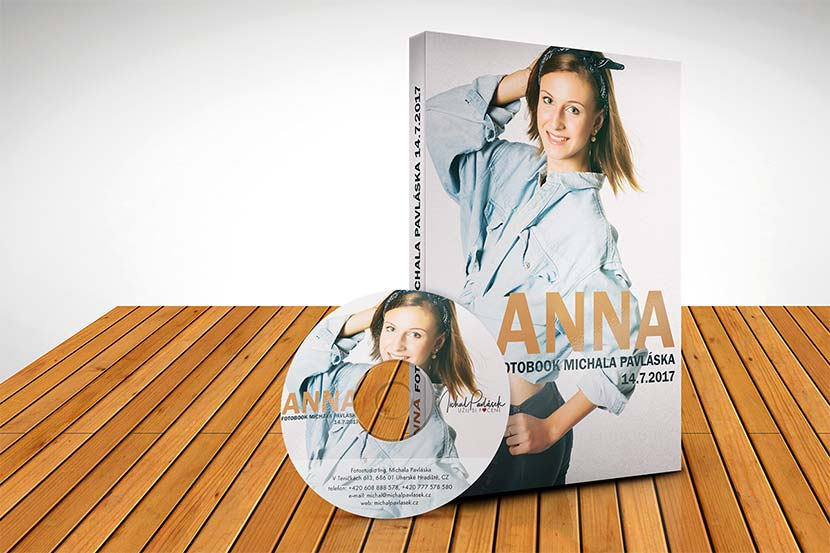 DVD / Fotobook pro modelku